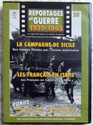 MILITARIA  DVD Collection Reportages De Guerre WW2 - #28 La Campagne De Sicile & Les Français En Italie VF - Altri