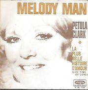 45 TOURS PETULA CLARK -- MELODY MAN - Sonstige - Franz. Chansons