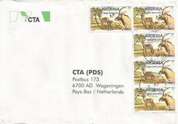 Nigeria 2001 Bukuru Roan Antilope N20 Cover - Nigeria (1961-...)