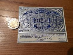 Etiquette «COGNAC - J. & F. MARTELL. » - Labels