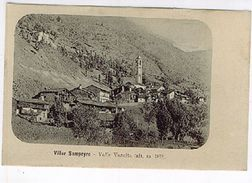 CUNEO VALLE VARAITA VILLAR SAMPEYRE  1910 - Cuneo