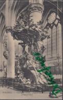 Feldpost: 2. Eskadron Husaren-Regt. Nr. 9, Mecheln 29.1.1916, Motiv: Malines, Chaire De Vérité Eglise Saint Rombaut - 1914-18