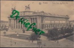 Feldpost: 2. Eskadron Husaren-Regt. Nr. 9, Antwerpen 25.12.1915, Motiv: Anvers, Kgl. Museum Der Schönen Künste - 1914-18