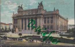 Feldpost: 2. Eskadron Husaren-Regt. Nr. 9, Antwerpen 8.11.1915, Motiv: Anvers, Kgl. Museum Der Schönen Künste - 1914-18