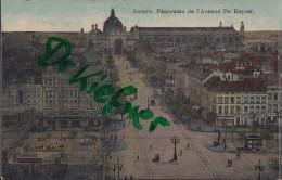 Feldpost: 2. Eskadron Husaren-Regt. Nr. 9, Antwerpen 25.12.1915, Motiv: Anvers Panorama Keyserstraße - 1914-18