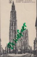 Feldpost: 2. Eskadron Husaren-Regt. Nr. 9, Antwerpen 9.12.1915, Motiv: Anvers Kathedrale - 1914-18
