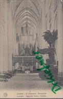 Feldpost: 2. Eskadron Husaren-Regt. Nr. 9, Antwerpen 19.1.1916, Motiv: Leuven, Louvain, Eglise St. Pierre, Innen - 1914-18