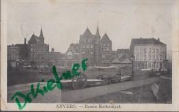 Feldpost: 2. Eskadron Husaren-Regt. Nr. 9,  Antwerpen 28.10.1915, Motiv: Anvers: Bassin Kattendyck - 1914-18