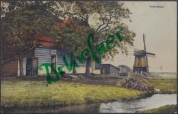 Feldpost: 8./VI. B.Inf.Ers.Truppe Beverloo, Stempel: Beverloo 4.1.1916 Truppenplatz, Motiv: Volendam, Windmühle - 1914-18