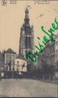 Feldpost: Stempel: 4.Unter-Els.Infant.-Regt. Nr.143, 23.1.1916, Motiv: Courtrai, Kortrijk, Kirche St. Martin - 1914-18