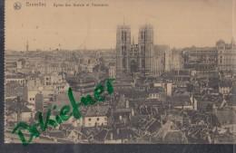 "Feldpost: Stempel: Kriegslazarett IV, Brüssel, Um 1915, Motiv: Bruxelles, Panorama, ""Schicke Keine Lebensmittel, Denn... - 1914-18"