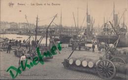 "Feldpost: 27.12.1914, Motiv: Anvers, Quais Et Bassin, Mit Frachtschiff MS ""Celia"", Hamburg - 1914-18"