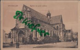 Feldpost: Um 1915, Motiv: Bruxelles Eglise Du Petit Sablon - 1914-18