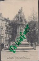 Feldpost: 1. Landsturm Infant.Batl. Bruchsal II.K. Stempel: Um 1915/16, Motiv: Antwerpen, Anvers, Statue Quintin Matsijs - 1914-18