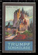 German Poster Stamps, Reklamemarke, Cinderellas, Castle, Schloss, Burg, Kastell, Eltz, - Castelli