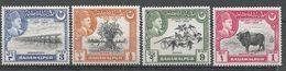 Pakistan-Bahawalpur 1949. Scott #22-5 (M) 25th Anniv. Of The Acquisition Of Full Ruling Powers By Amir Khan V - Pakistan