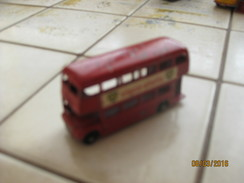 MATCHBOX  LESNEY -  BUS LONDONIEN -     NUM 05  -  CATALOGUE 1964 - Matchbox (Lesney)