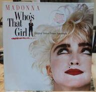 33 TOURS MADONNA -- WHOS THAT GIRLS - Vinyl-Schallplatten