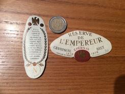 Etiquette Champagne «RÉSERVE DE L'EMPEREUR EPERNAY » 1978 (Napoléon) - Champagne