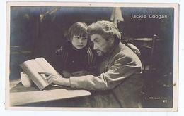 JACKIE COOGAN ( LOS ANGELES ) ACTOR - METRO GOLDWIN RPPC 1920s ( 154 ) - Artisti
