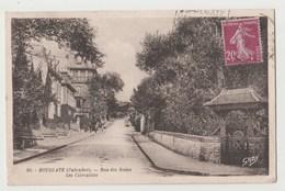 CPA 14 HOULGATE Rue Des Bains - Les Clématites - Houlgate