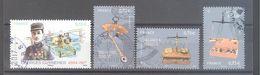 """France Oblitérés (PA Georges Guynemer & 3 Timbres Issus Du Bloc """"pèse-lettres"""") (cachet Rond) - Frankreich"""