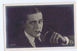 WALLACE REID ( ST. LOUIS ) ACTOR - RPPC POSTCARD 1920s ( 177 ) - Artisti