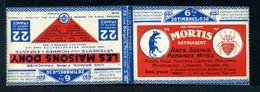 Carnets 192-C2 Et C5 Semeuse 30c Bleu - Couverture Vide Série 101 O - Uso Corrente