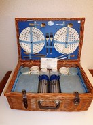 VALISE OSIER PICNIC VINTAGE WEST MIDLAND ANGLAIS - Other Collections