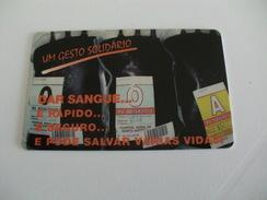 Blood Donors Donneurs De Sang Dadores De Sangue Portugal  Portuguese Plastic Pocket Calendar 2002 - Calendars