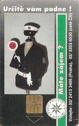CARTEà-PUCE-1994-50-POLICIER-UTILISE-TBE - Tchécoslovaquie