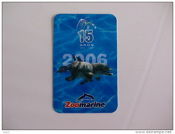 Zoomarine Portugal Portuguese Pocket Calendar 2006 - Calendars