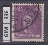 GERMANIA IMPERO, 1926Tedeschi Famosi, 40 Pf, Usato - Gebruikt