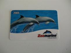 Zoomarine Portugal Portuguese Pocket Calendar 2005 - Calendars