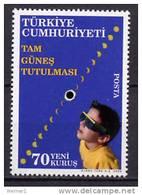 Turkey 2006 Space Solar Eclipse Stamp MNH - Space