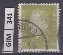 GERMANIA IMPERO, 1928-32Ebert E Hindenburg, 6 Pf, Usato - Gebruikt