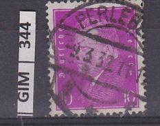 GERMANIA IMPERO, 1928-32Ebert E Hindenburg, 10 Pf, Usato Lilla Rosa - Gebruikt