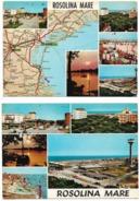 Rosolina Mare (VE) - 2 Cartoline - Autres Villes