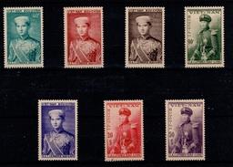 YV 22 à 28 N** Prince Bao Long Serie Complete - Viêt-Nam