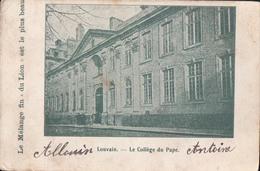Leuven Louvain Le Collège Du Pape Le Mélange Fin Du Lion Est Le Plus Beau Biscuits Et Dessert - Leuven
