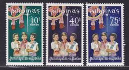 PHILIPPINES N°  708 à 710 ** MNH Neufs Sans Charnière, TB (D4487) Noel - Philippines