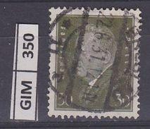 GERMANIA IMPERO, 1928-32Ebert E Hindenburg, 80 Pf, Usato - Gebruikt