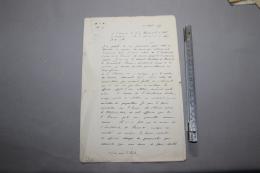 Demande De Citation Pour Un Officier D'artillerie  Français Octobre 1915 - 1914-18