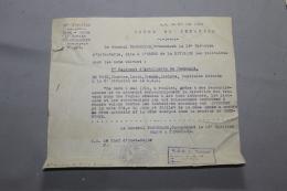 Ordre De Citation Pour Un Poilu Du 7ème RAC 1919 - 1914-18