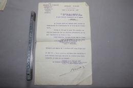 Affectation D'un Colonel De L'artillerie à La 9ème Division D'infanterie 1917 - 1914-18