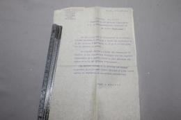 Témoignage De Satisfaction Au 30 RAC Aout 1918 - 1914-18