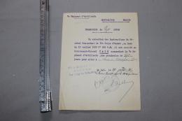 Permission De 7 Jours Pour Un Lieutenant-colonel 1915 - 1914-18