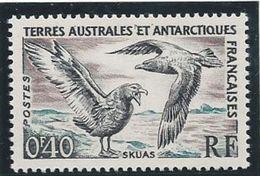 TAAF 1959/63 - YT N°13 - 40c. - Faune - Skuas - NEUF** TTB Etat - Terres Australes Et Antarctiques Françaises (TAAF)