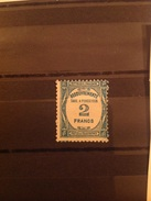France 1927-31 Postage Due 2F Blue Used SG D460 Yv Taxe 61 - 1859-1955 Oblitérés