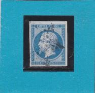 N°14 A  ETOILE DE PARIS   REF 10334 + VARIETE - 1853-1860 Napoleon III